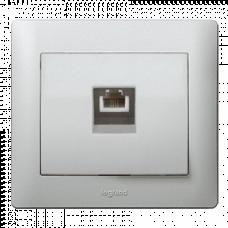 Панель коммуникационная 1-я Galea Life 771395 алюминий