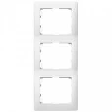Рамка 3-я вертикальная Galea Life 771007 белая