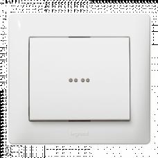 Клавиша 1-я с подсветкой Galea Life 771034 белая