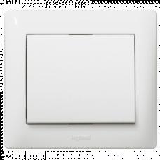 Клавиша для 1-клавишного выключателя, цвет белый 777010