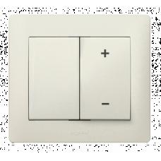 Панель диммера (светорегулятора) Galea Life 771586 жемчужная