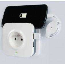 Розетка с УЗИП и USB разъемами 2К+З 16 А Legrand 694671