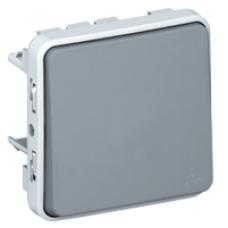 Выключатель (универсальный) 1-кл. Plexo 69511, серый