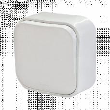 Выключатель 1-кл. Legrand Quteo 782200, накладной, цвет белый