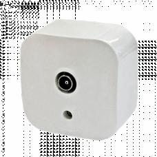 Розетка телевизионная Legrand Quteo 782215, накладной, цвет белый