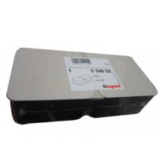 Монтажная коробка под заливку в бетон для лючков на 6 модуля Legrand 54002 металл