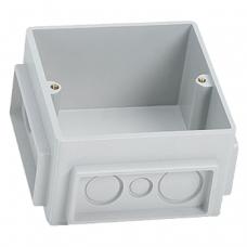 Монтажная коробка под заливку в бетон для лючков на 3 модуля Legrand 650390 пластик
