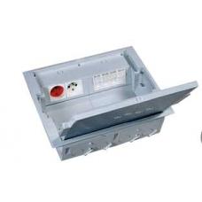 Коробка напольная 12 модулей, крышка для коврового/паркетного покрытия Legrand 89606