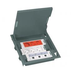 Коробка напольная 18 модулей, глубина 75-105 мм Legrand 89610