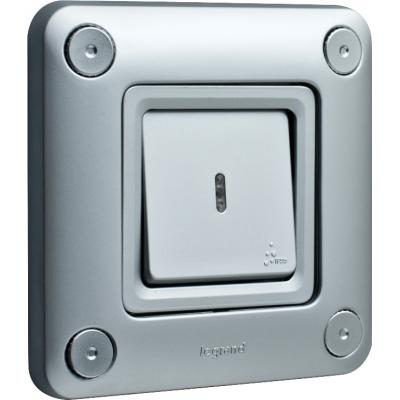 Выключатель универсальный 1-кл. IP55 IK10 Legrand Soliroc 77811