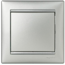 Выключатель 1-кл 770101 Legrand Valena алюминий