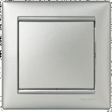 Переключатель (проходной) 1-кл Valena 770106 алюминий