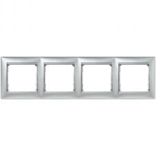 Рамка 4-пост Valena 770154 алюминий
