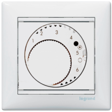 Терморегулятор для тёплых полов Valena 770091 белый