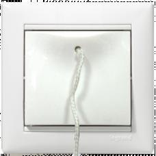 Кнопка со шнурком Valena 774419 белая