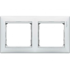 Рамка 2-пост Valena 774452 белая