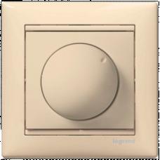 Светорегулятор поворотный 40-400W Valena 774161 слоновая кость