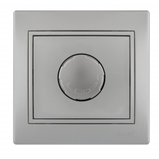 Диммер 1000 Вт  LEZARD MIRA металлик серый