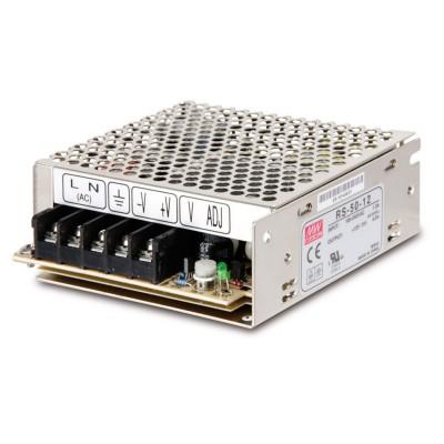 Блок питания 50Вт DC12V IP30 Mean Well