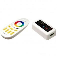 Радио RGB контроллер 18A RF 216W 12V 4 zone white