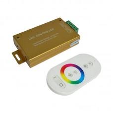 RGB контроллер 24A RF 288W 12V white (сенсорный радио пульт)