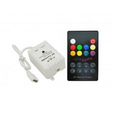 Музыкальный RGB радиоконтролер 18 кнопок