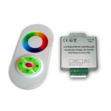 Радио RGB контроллер 18А White (сенсорный радио пульт)