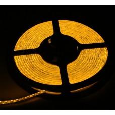 Светодиодная лента LED SMD 3528, 120шт/м, IP64, желтый