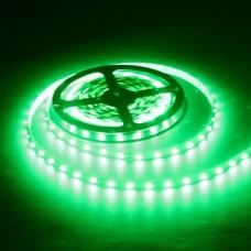 Светодиодная лента LED SMD 5050, 60шт/м, IP33 (без влагозащиты), зеленый