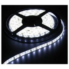 Светодиодная лента LED SMD 5050, 60шт/м, IP64 (влагозащита), холодный белый