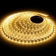 Светодиодная лента LED SMD 5050, 60шт/м, IP64 (влагозащита), желтый
