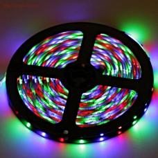 Светодиодная лента LED SMD 5050, 60шт/м, IP33 (без влагозащиты), RGB