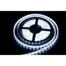 Светодиодная лента LED SMD 3528, 120шт/м, IP67 (IP68), холодный белый