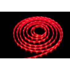 Светодиодная лента LED SMD 5050, 60шт/м, IP64 (влагозащита), красный