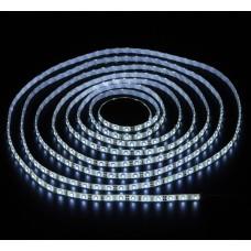Светодиодная лента LED SMD 3528, 120шт/м, IP33, холодный белый