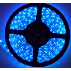 Светодиодная лента LED SMD 3528, 120шт/м, IP67 (IP68), синий