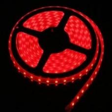 Светодиодная лента LED SMD 3528, 120шт/м, IP33, красный
