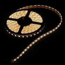 Светодиодная лента LED SMD 5050, 60шт/м, IP64 (влагозащита), теплый белый