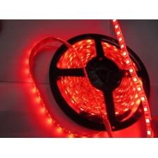 Светодиодная лента LED SMD 5050, 60шт/м, IP33 (без влагозащиты), красный