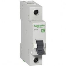 Автоматический выключатель 1Р, 6А, тип С, EZ9F34106