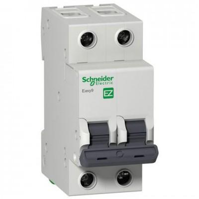 Автоматический выключатель 2Р, 25А, тип С, EZ9F34225