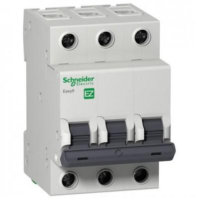 Автоматический выключатель 3Р, 10А, тип С, EZ9F34310