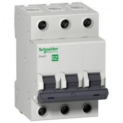 Автоматический выключатель 3Р, 25А, тип С, EZ9F34325