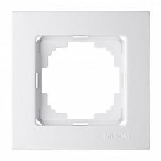 Рамка 1-ная (Nilson Touran - белый) 24110091