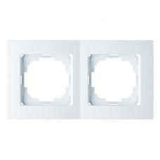 Рамка 2-ная (Nilson Touran - белый) 24110092