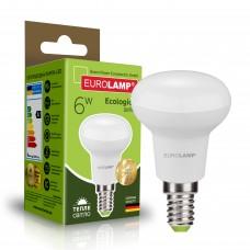Светодиодная лампа Eurolamp R50 6W Е14 3000K (LED-R50-06142(P))