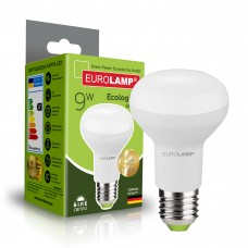 Светодиодная лампа Eurolamp R63 9W Е27 4000K (LED-R63-09274(P))