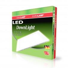 Светодиодный светильник Eurolamp DownLight квадратный 12W 4000K (LED-DLS-12/4)