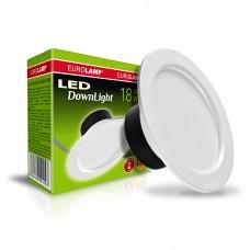 Светодиодный светильник Eurolamp DownLight круглый 18W 4000K (LED-DLR-18/4(Е))