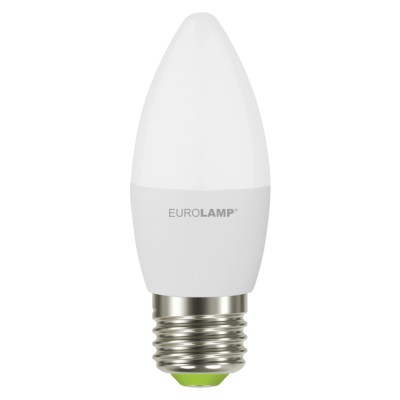 Светодиодная лампа Eurolamp CL 6W Е27 4000K (LED-CL-06274(P))